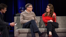 TED: Bill and Melinda Gates: Why giving away our wealth has been the most satisfying thing we've done... - Bill Gates / Melinda Gates (2014)